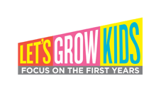 Let's Grow Kids logo: Education clients Marketing Partners