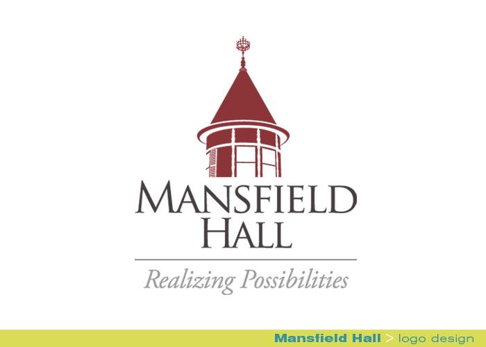 branding identity_Mansfield Hall_logo design