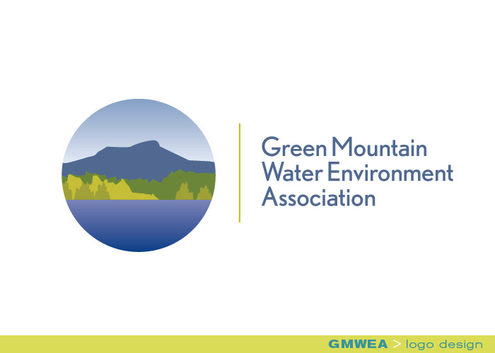 branding identity_Green Mountain Water Environment Association_logo design