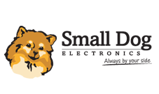 Small Dog Electronics logo: Mission-driven business clients Marketing Partners