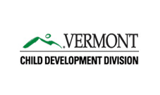 Vermont Child Development Division logo: Government agency clients Marketing Partners