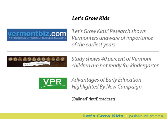 Marketing Partners Public Relations image: Let's Grow Kids