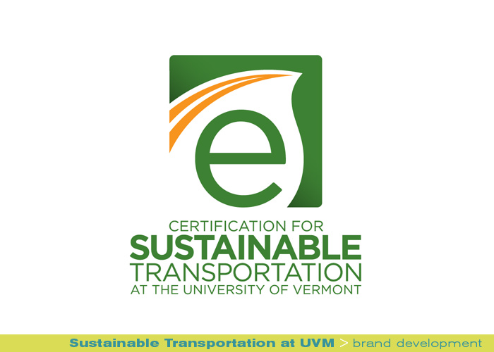 branding identity_Sustainable Transportation at UVM_brand development