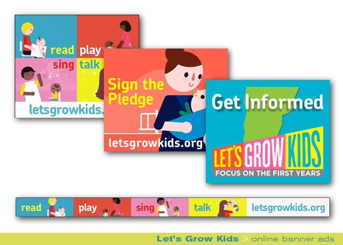 Digital Web Online_Let's Grow Kids_online banner ads