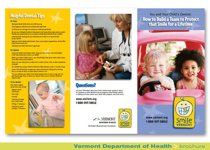 Print_Smile Vermont_Brochure
