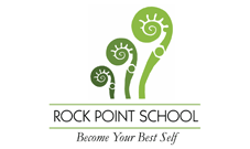 Rock point School logo: Education clients Marketing Partners