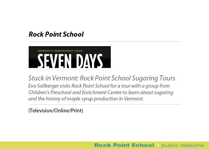 Marketing Partners Public Relations image: Rock Point School