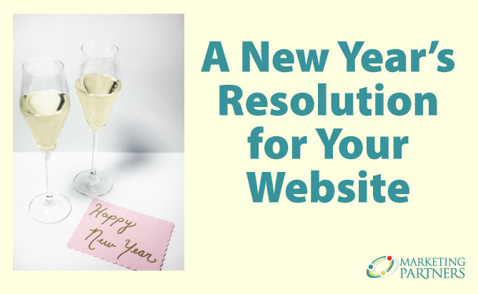New Year's Resolution for Your Website