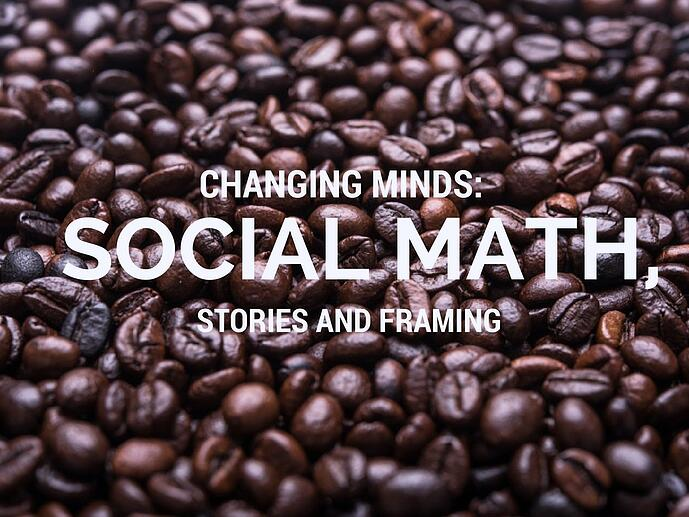 Social Math: image of large number of coffee beans | Marketing Partners VT