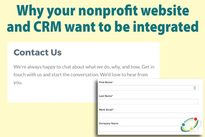 integrate your website and contacts effectively