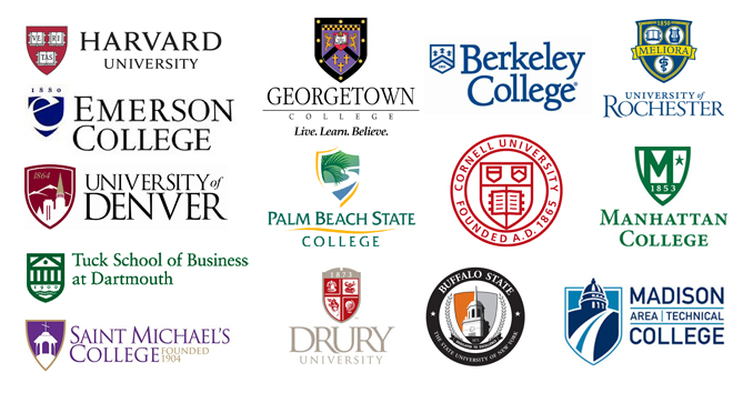 College crests & shield logo examples