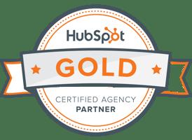 HubSpot Certified Agency Partner badge - Marketing Partners, Burlington, Vermont