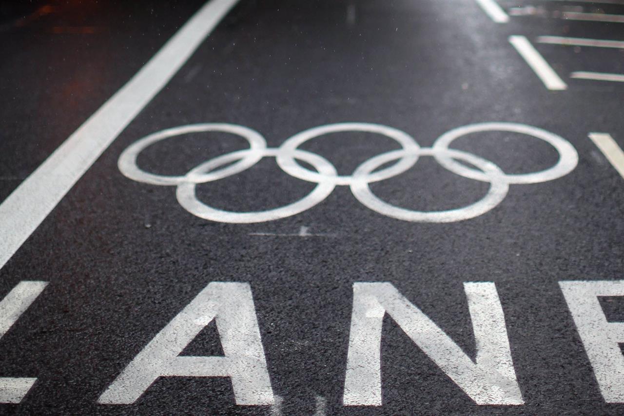 London_Olympic-bike-lanes