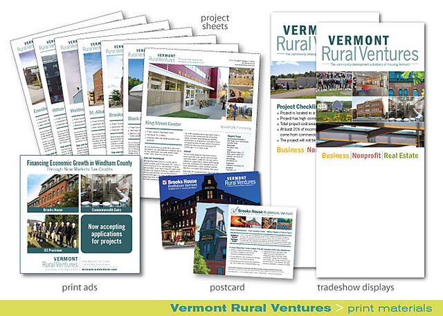print-collateral-materials-Vermont-Rural-Ventures
