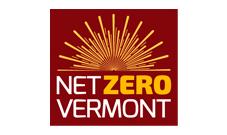 Net Zero Vermont logo: : Nonprofit clients Marketing Partners