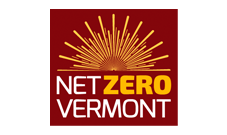 Net Zero Vermont logo: Nonprofit clients Marketing Partners