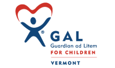 Vermont GAL logo: Government agency clients Marketing Partners