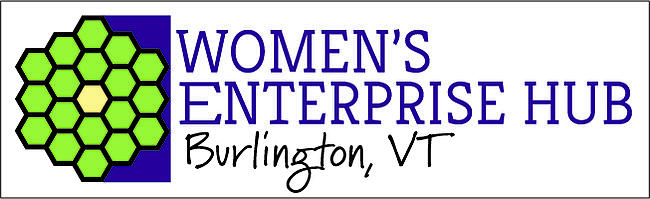 Women's Enterprise Hub - Burlington VT logo horiz