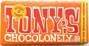 Tony's Chocolonely tells a difficult story in an optimistic way.