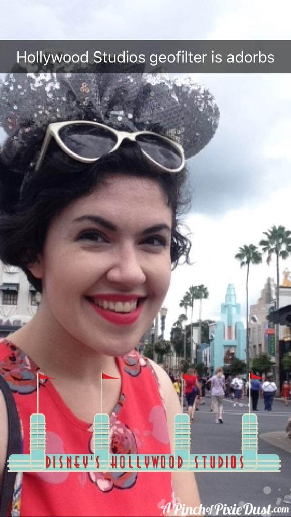 Disney's Hollywood Studios Snapchat Geofilter