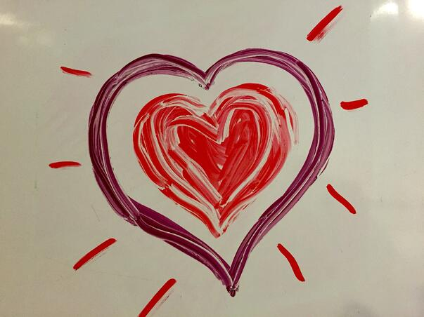 customer relationship love - heart image