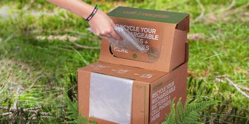 Call2 Recycle battery recycling box