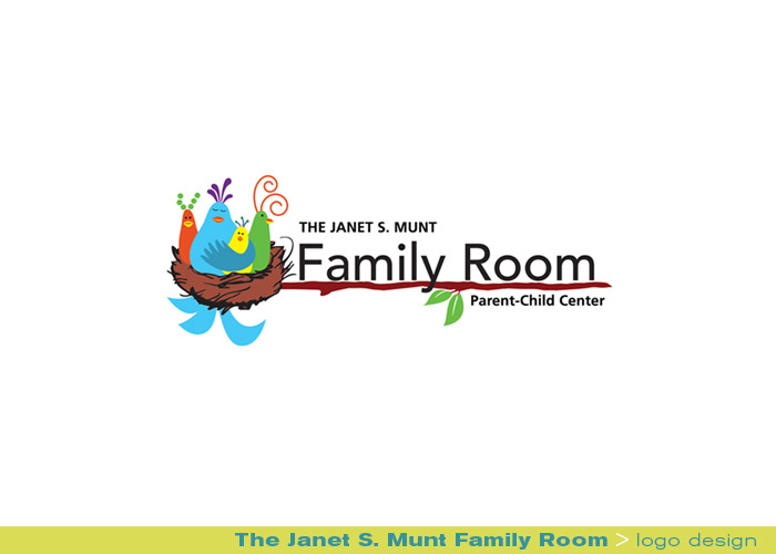 Branding logo for The Janet S Munt Family Room