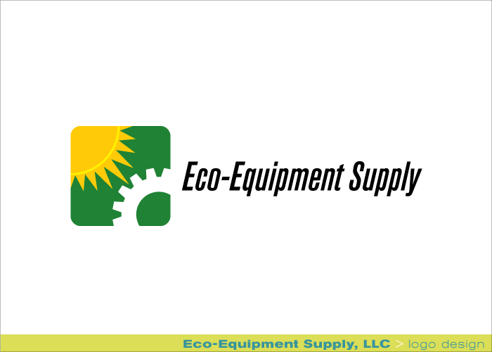 Branding identity Eco-Equipment Supply logo design