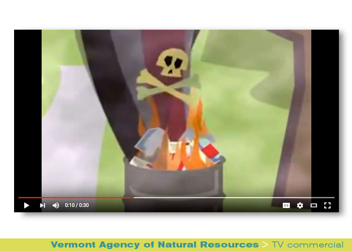 Broadcast: Vermont Agency of Natural Resources, Don't Burn Vermont
