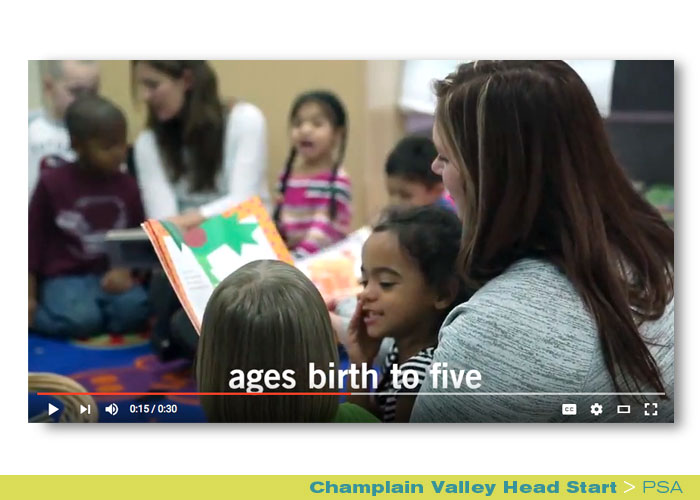 Broadcast: Champlain Valley Head Start, PSA