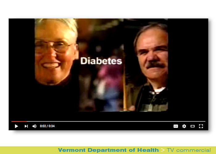 Broadcast: Vermont Department of Health, Diabetes