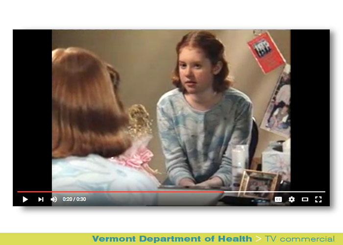 Broadcast: Vermont Department of Health, Vermont Parents Toolkit