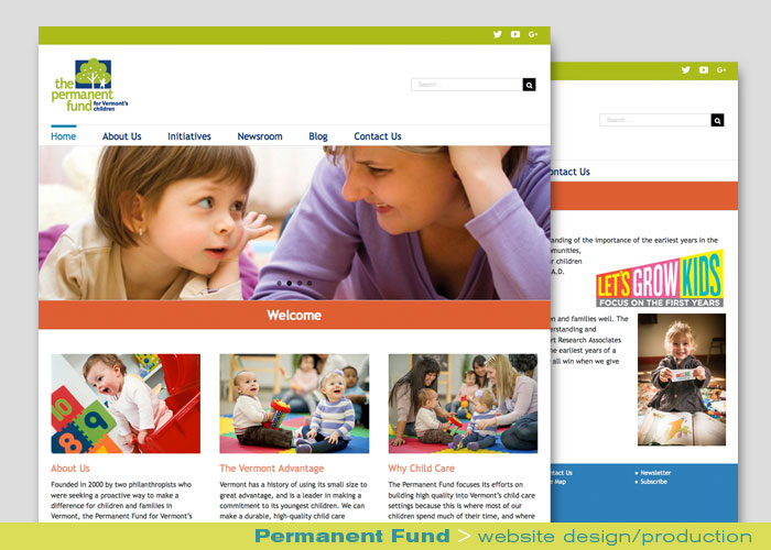 Digital Web Online_Permanent Fund_web design and production