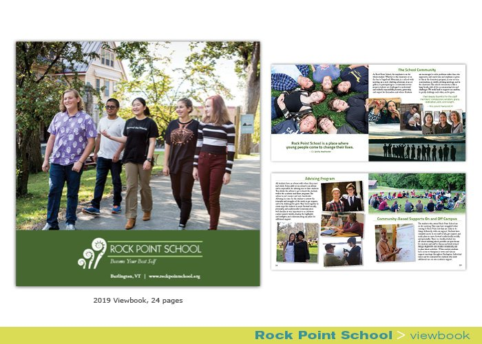 Rock Point School viewbook