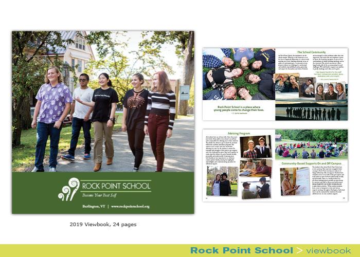 Rock Point School viewbook