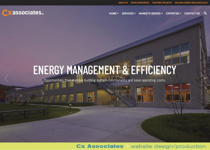 Digital Web Online_Cx Associates_ website design and production