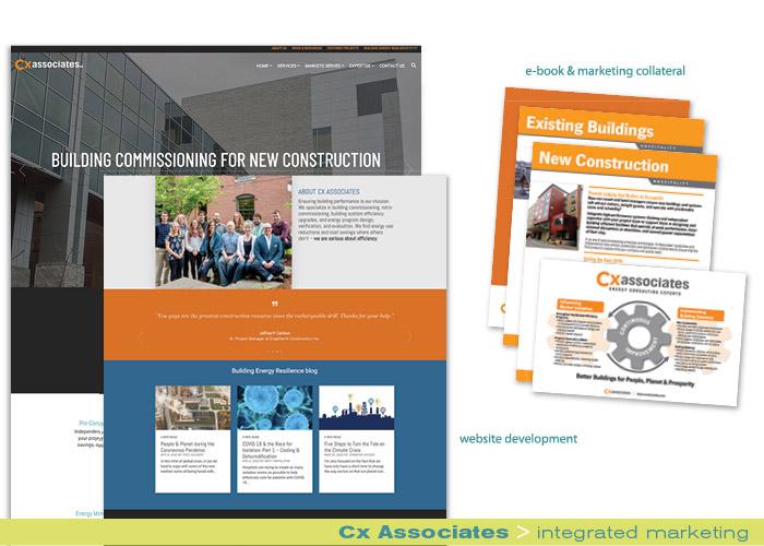 Cx Associates integrated marketing portfolio
