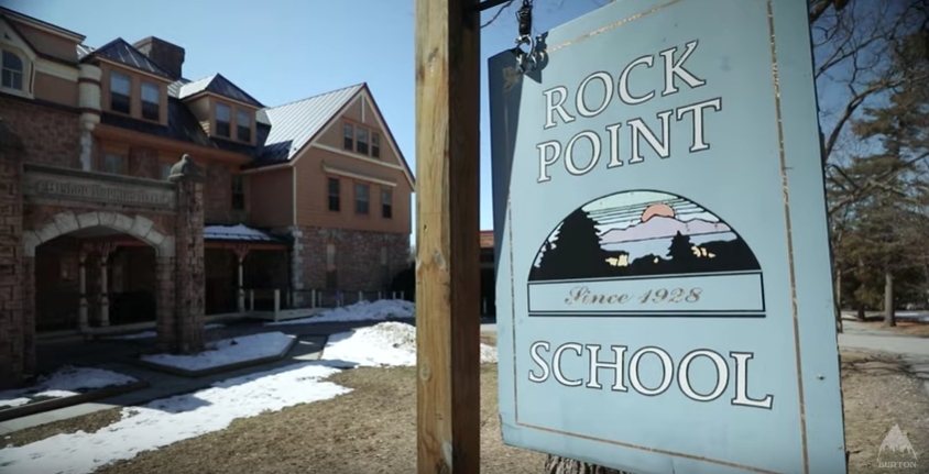 Burton-Chill-video-Rock-Point-School