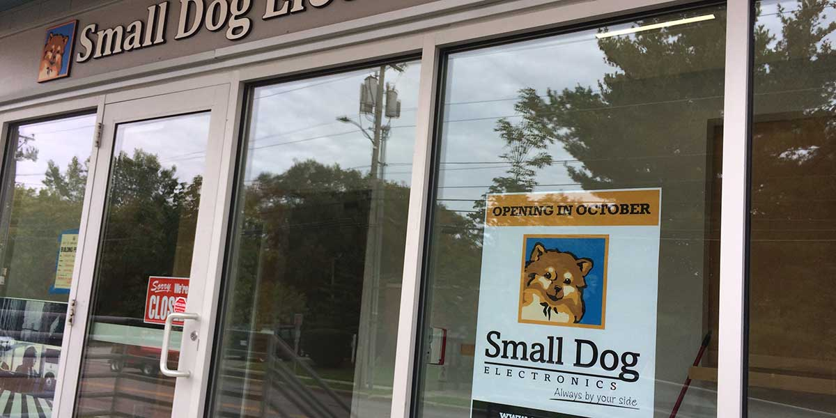 Small Dog Electronics new Burlington Vermont store location